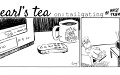 Cartoon: Earl's Tea on: Tailgating