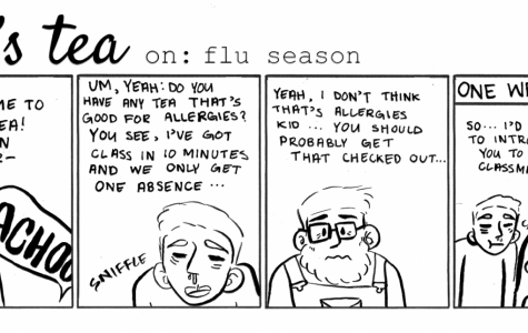 Cartoon: Earl's Tea: Flu Season