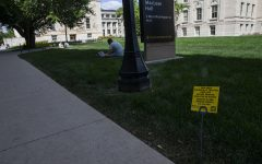 UI treats lawns with chemicals, students unaware of health risks