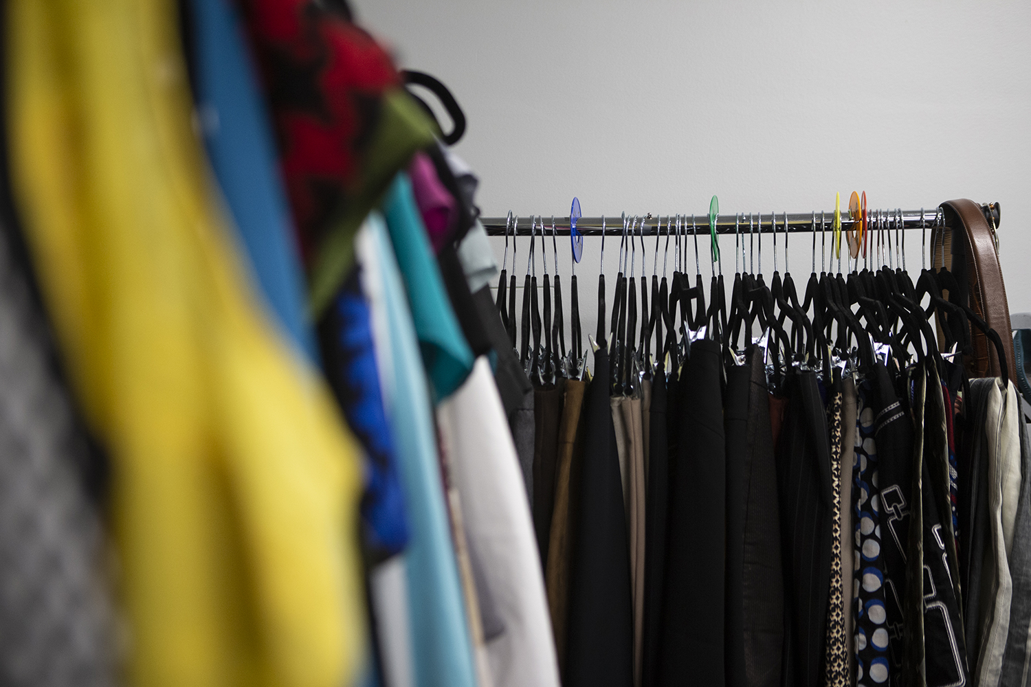 The Clothing Closet in the IMU is pictured on September 19, 2019.