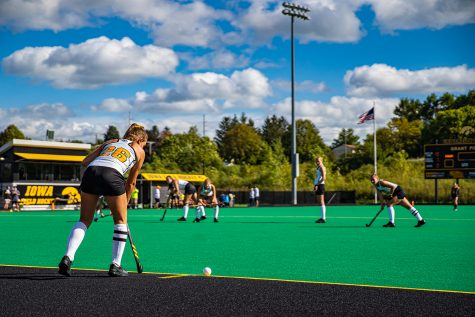 No. 8 Iowa field hockey upsets No. 6 Penn State