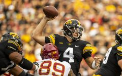 Iowa football seeks in-state bragging rights