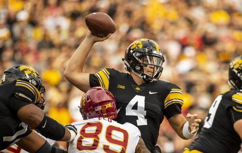 By the numbers: Iowa football before bye week
