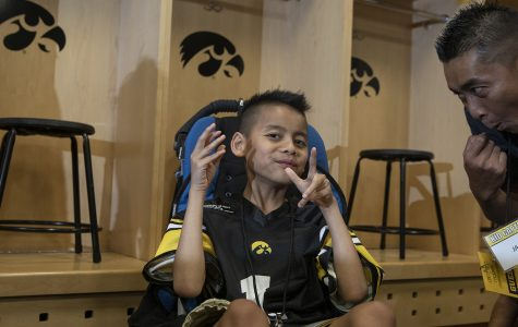 Family supports Kid Captain along road to recovery