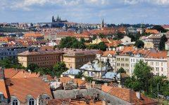 The city of Prague, Czechia, as seen on June 18.