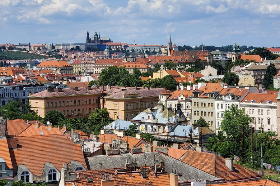 The+city+of+Prague%2C+Czechia%2C+as+seen+on+June+18.+