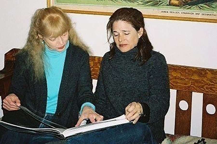 Jan Weismiller and the late Jane Mead when they bought the store in 2008.