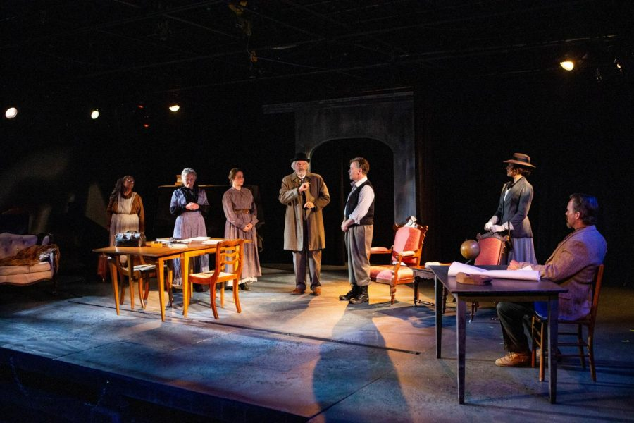 The+cast+of+Uncle+Vanya+performs+at+the+Riverside+Theatre+on+Thursday%2C+September+12%2C+2019.+