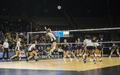Iowa volleyball looks to win fifth consecutive home opener