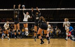 Iowa volleyball has taken a step forward with Buzzerio sisters