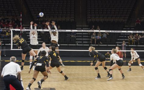 Hawkeye volleyball to compete in Cy-Hawk Series at Carver-Hawkeye Arena