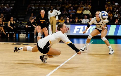 Photos: Iowa volleyball vs. Washington (9/7/2019)