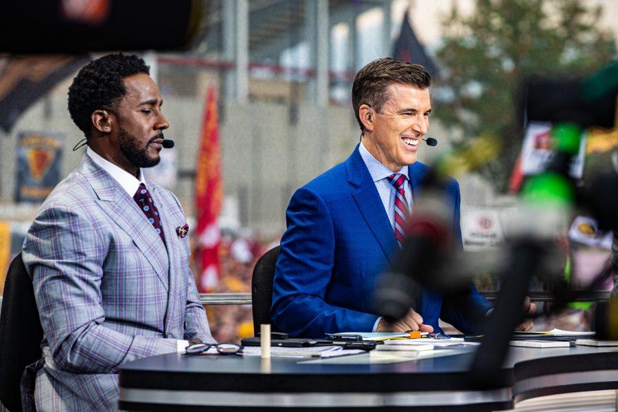 Photos: ESPN College GameDay at Cy-Hawk (9/14/2019)
