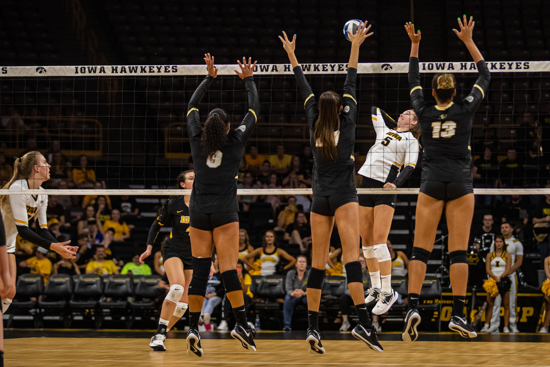 Photos: Iowa volleyball vs  Colorado (9/6/2019) – The Daily