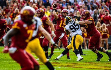 Iowa beats Iowa State for fifth-consecutive season
