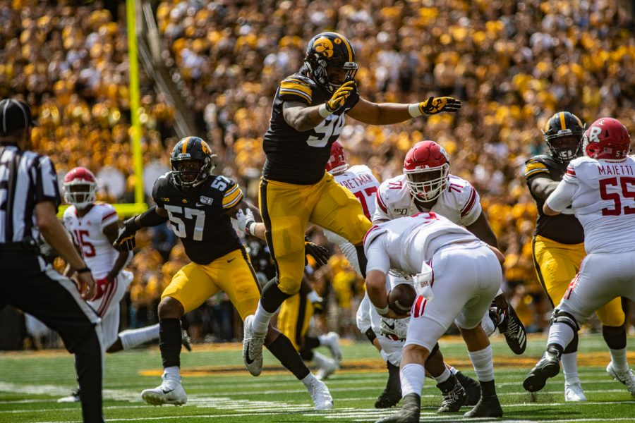 Iowa defense steps up to shut out Rutgers – The Daily Iowan