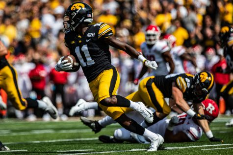 Merriweather expected to miss Rutgers game – The Daily Iowan