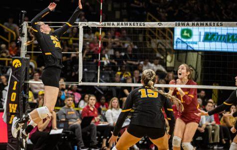 Photos: Iowa volleyball vs. Iowa State (9/21/2019)