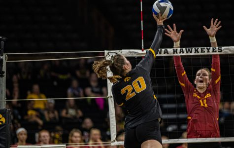 Schmidt making impact during transition to Iowa City