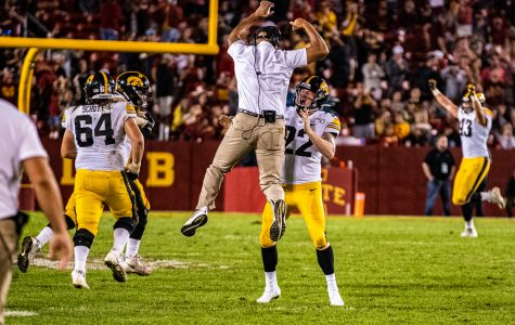 Highlights from Iowa's press conference following win over Iowa State