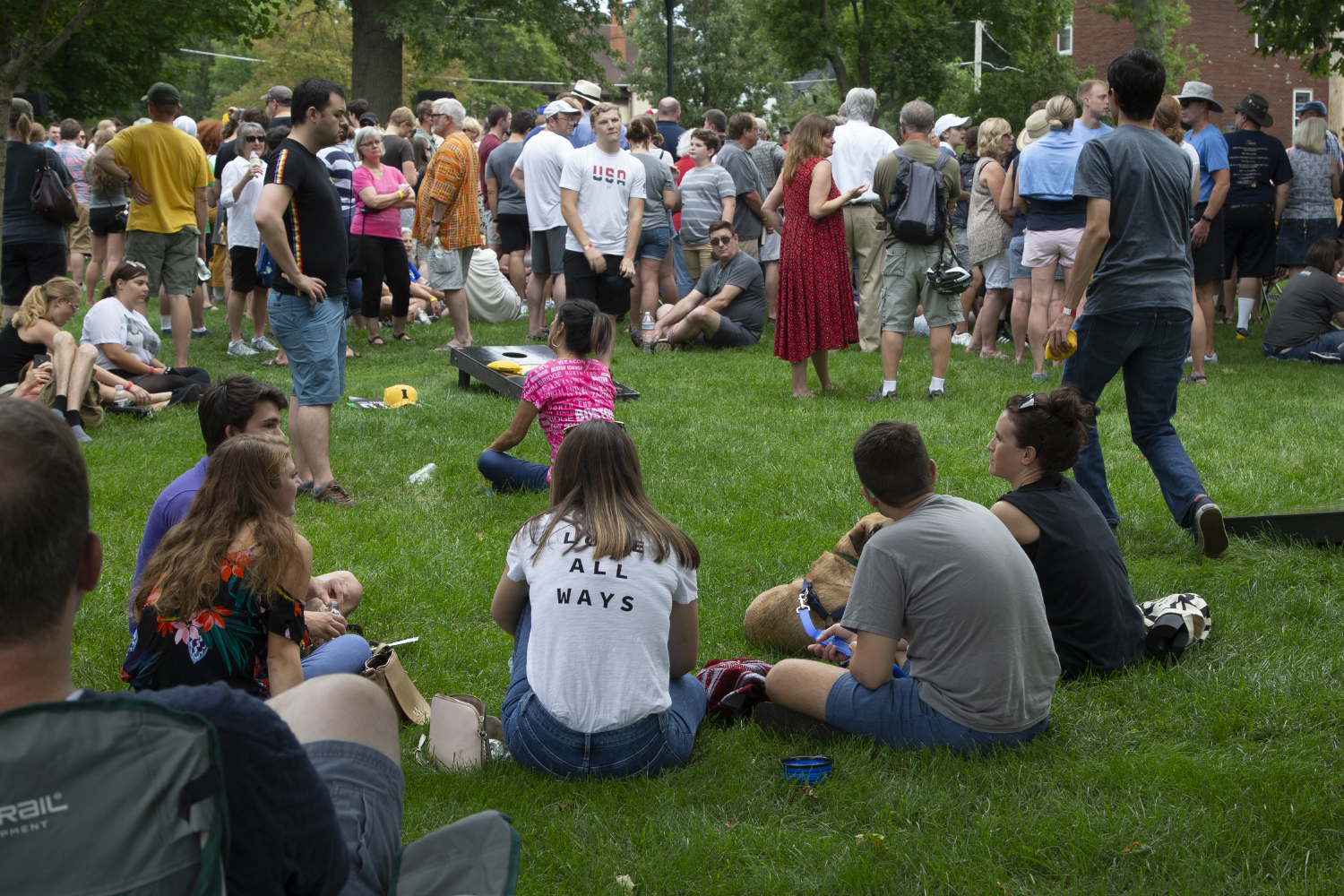 Attendees+wait+for+the+arrival+of+2020+Democratic+candidate+Pete+Buttigieg+during+a+lawn+event+to+celebrate+opening+his+new+campaign+office+in+downtown+Iowa+City+on+September+2%2C+2019.