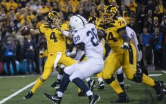 Highlights from Iowa's press conference following loss to Penn State