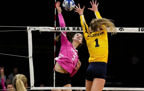 Iowa volleyball faces Penn State, Rutgers at home
