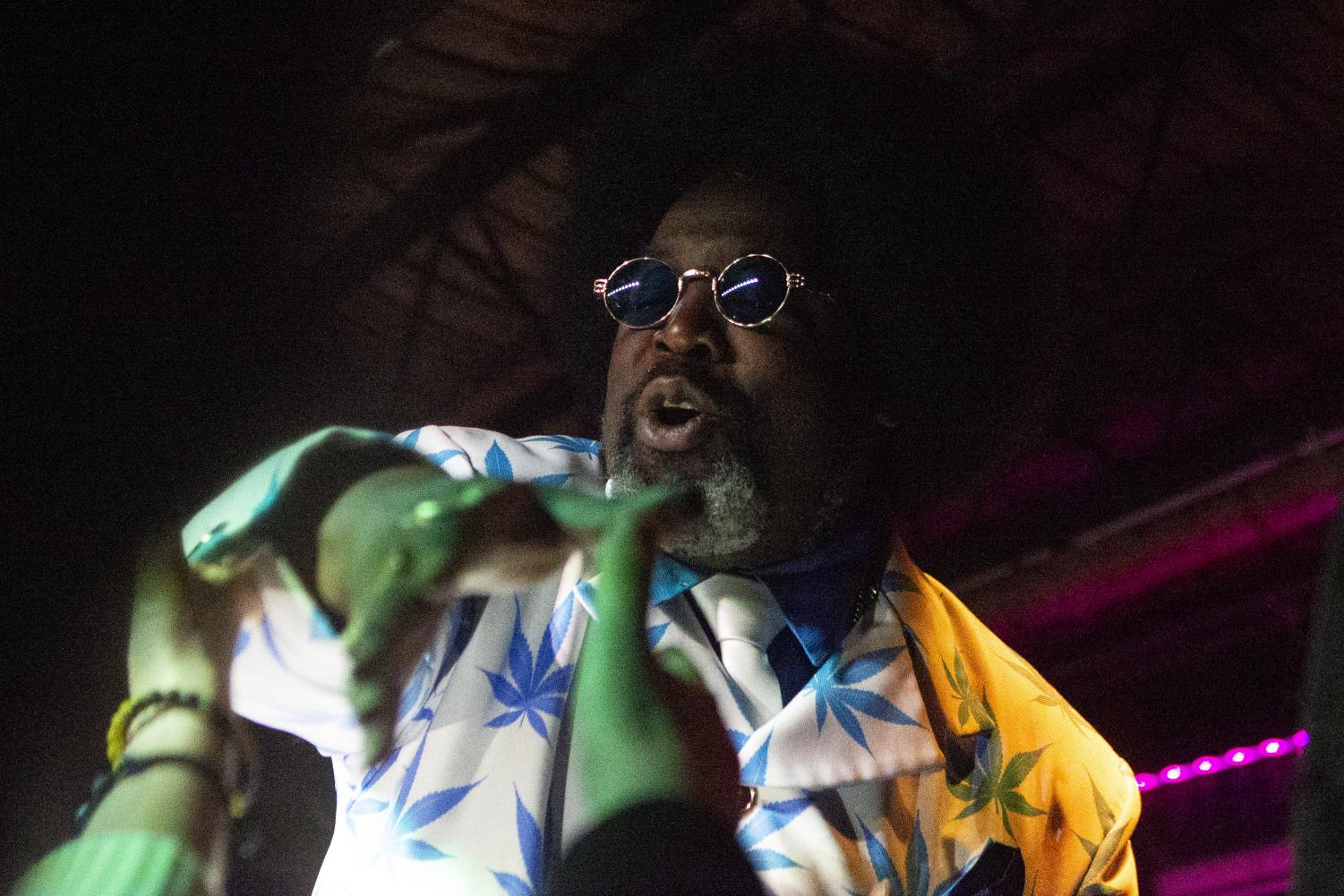 Afroman performs at Gabe's on October 19, 2019. (Raquele Decker/The Daily Iowan)