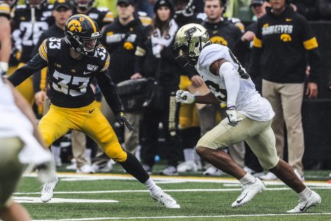 Iowa football hurt by penalties against Northern Iowa