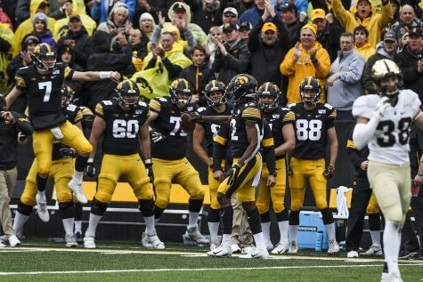 By the numbers: Iowa football before bye week
