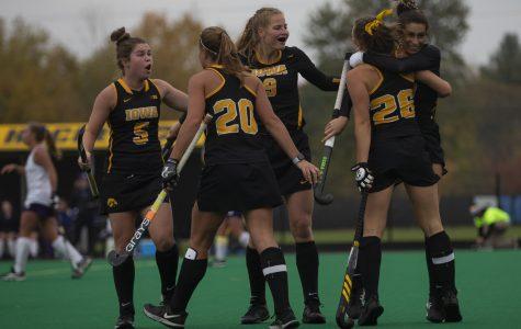 Iowa field hockey hangs on to beat Duke in NCAA Tournament