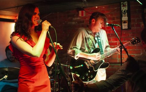 Groove-pop and saxophone solos: The Violet Nines at the Yacht Club