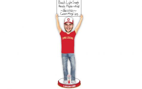 Carson King awarded a spot in the National Bobblehead Hall of Fame