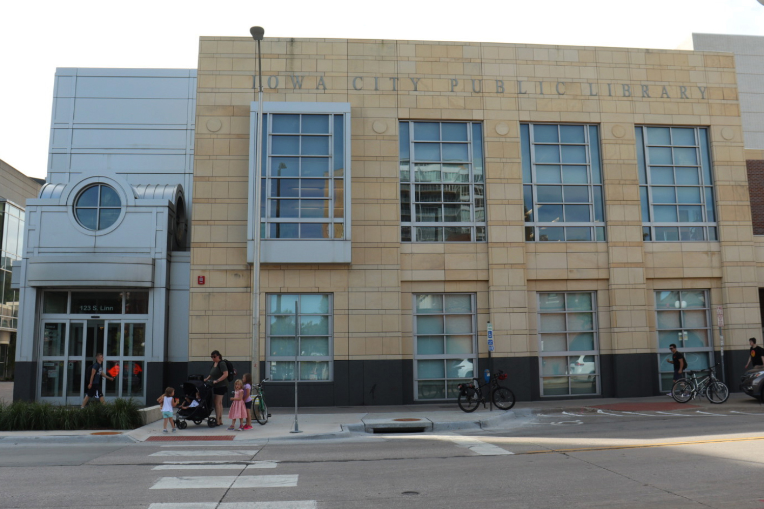 The Iowa City Public Library is seen on Monday, September 16, 2019.