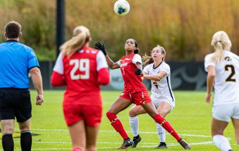 Whitaker provides elite defense for Iowa soccer