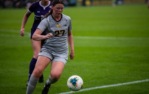 Iowa soccer's Tawharu makes impressive impact in her first season