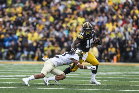 Iowa's rushing game is looking to improve against Penn State