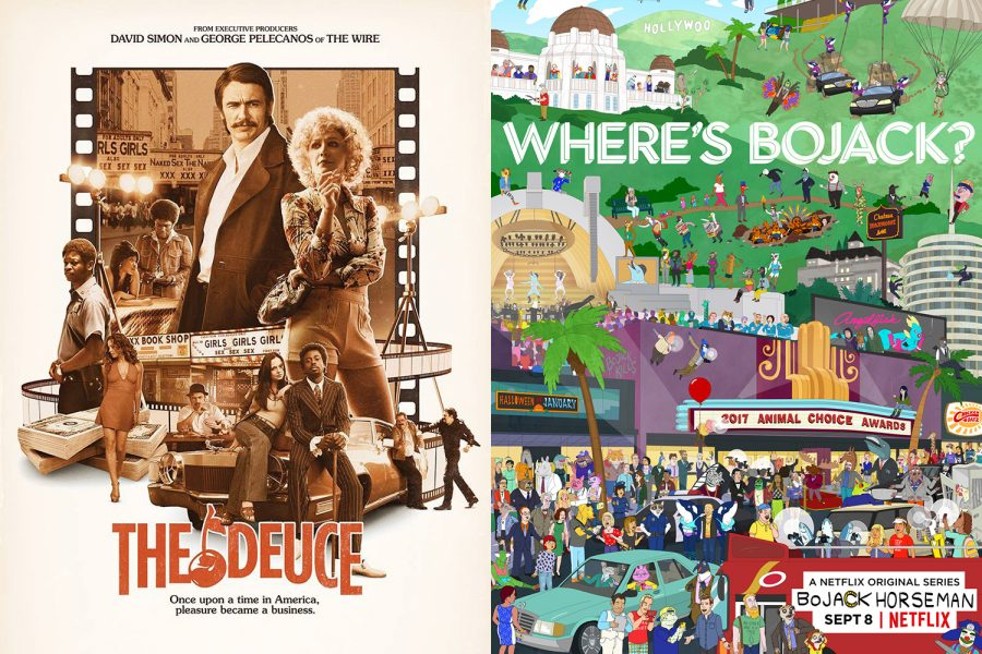 Showing darkside of stardom, The Deuce and BoJack Horseman conclude their runs