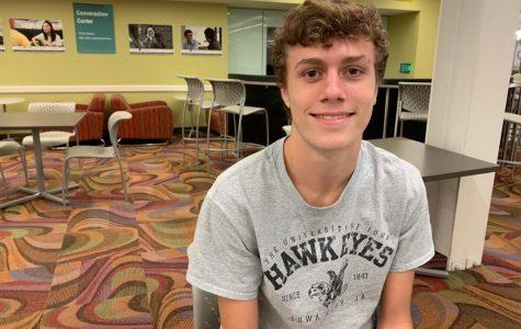 Thomas Laughlin, UI freshman