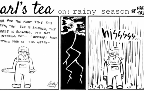 Cartoon: Earl's Tea: Rainy Season