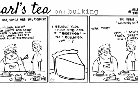 Cartoon: Earl's Tea on Bulking