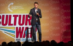 Charlie Kirk visits UI to discuss conservative cultural issues