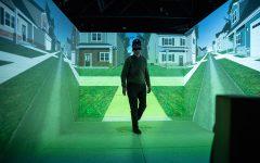 Advanced virtual-reality tech helps UI scientists study pedestrian behavior