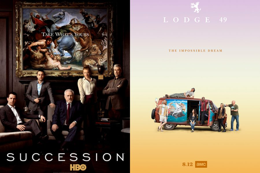 Two shows in their second years, Succession and Lodge 49, are different in content yet consistent in quality.
