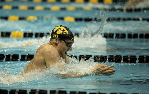 Photos: Iowa swimming vs. Minnesota (10/26/2019)