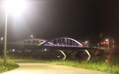 The bridge on Park Road is seen on Wednesday, Oct. 2, 2019.