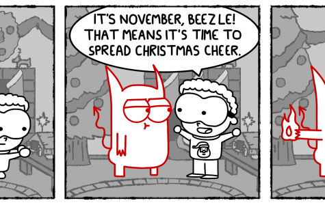 Cartoon: Beezle & Bubba: Christmas Spirit