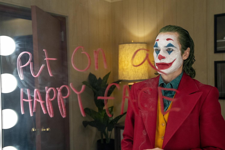 "Joaquin Phoenix stars in ""Joker."" [Handout photo by Niko Tavernise/Warner Bros. Pictures]"