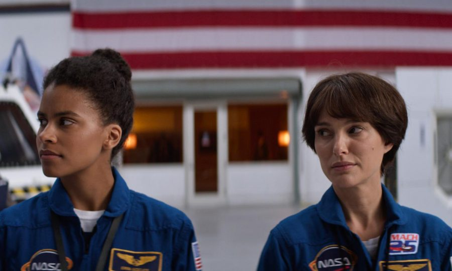 """Zazie Beetz, left, and Natalie Portman plays professional and romantic rivals in """"Lucy in the Sky."""" MUST CREDIT: Fox Searchlight Pictures"""