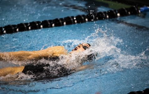 Iowa women's swim/dive downs Rutgers in dominant fashion
